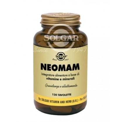 Neomam 120 tavolette gravidanza e allattamento