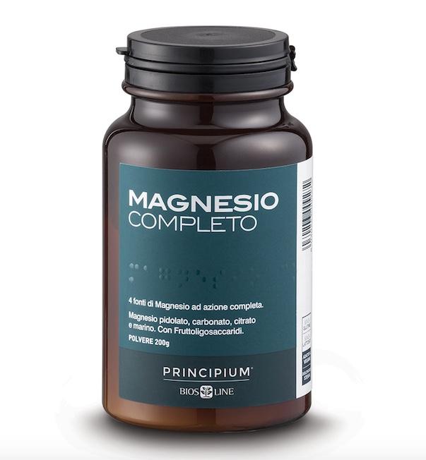 Magnesio Completo polvere 200gr Principium